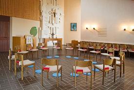 Innenansicht der St.-Martin-Kapelle in Escheburg - Copyright: Manfred Maronde