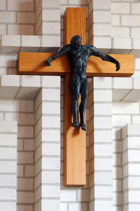 Das Altarkreuz der St.-Martin-Kapelle in Escheburg  - Copyright: Manfred Maronde